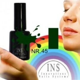 INS Lakier żelowy UV 15ml. - 45
