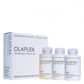 OLAPLEX Salon Intro Kit Zestaw do profesjonalnej regeneracji włosów  No.1 100ml + 2x No.2 100ml
