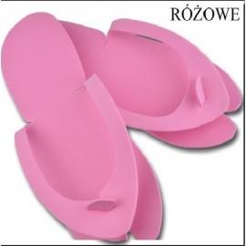 DCD JP Klapki japonki kosmetyczne kolor różowy