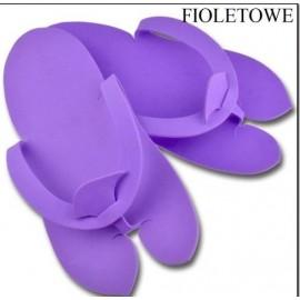 DCD JP Klapki japonki kosmetyczne kolor fioletowy