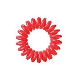 LAVIO gumki do włosów 3 szt.kolor czerwony
