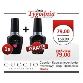 Cuccio Lakier Hybrydowy 1+1 GRATIS !!!