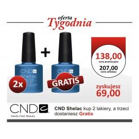 CND Shellac Lakier Hybrydowy 2+1 GRATIS !!!