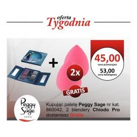 Paleta Peggy Sage + dwa Blendery Chiodo Pro GRATIS !!!