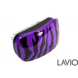 LAVIO Detangler szczotka  rozplątująca do włosów kolor Fioletowa zebra