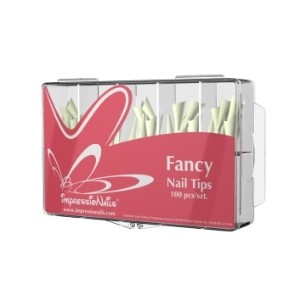Tipsy ImpressioNails Fancy 100szt. - białe szpice kod: IN-FTW100