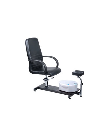 Fotel do pedicure z masażerem stóp BW-100 czarny